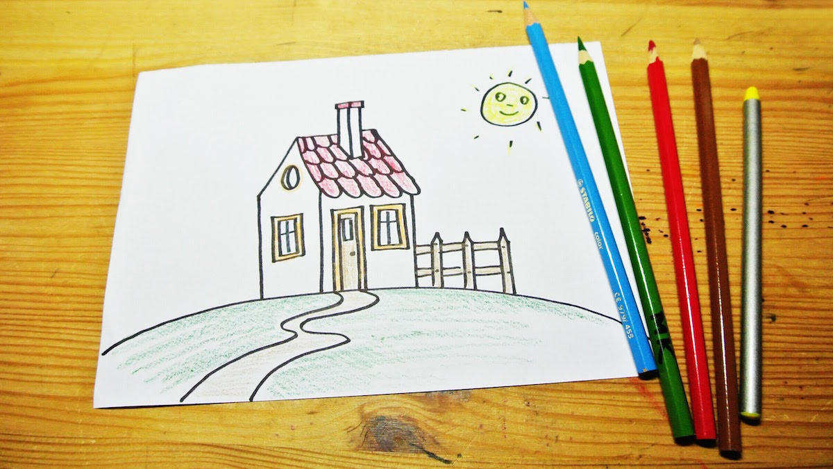 Huis tekenen finest d plattegrond woning budget render for Trap tekenen plattegrond